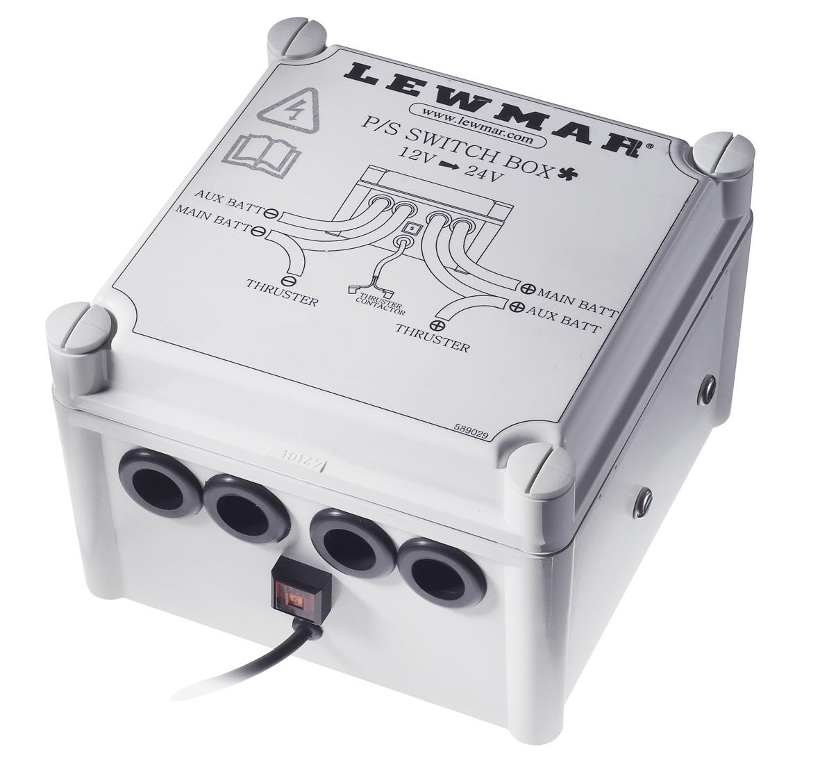 Power switch box | Lewmar